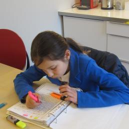 Dyslexiebehandelruimte te Huizen in kindcentrum de Optimist